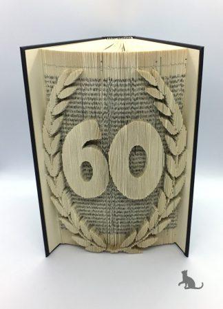 Buch Zum 60. Geburtstag aus Petras Bastelecke