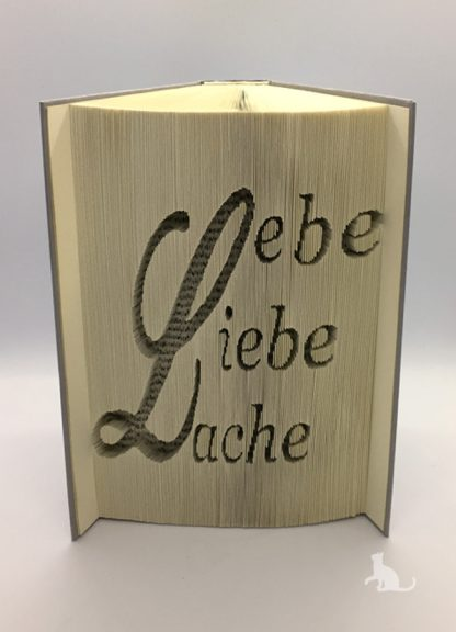 Buch Lebe Liebe Lache aus Petras Bastelecke