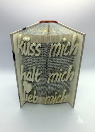 Buch Küss mich halt mich lieb mich aus Petras Bastelecke