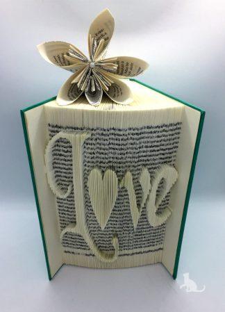 Buch Love aus Petras Bastelecke