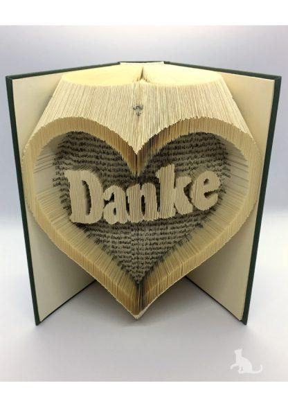 Buch Danke aus Petras Bastelecke