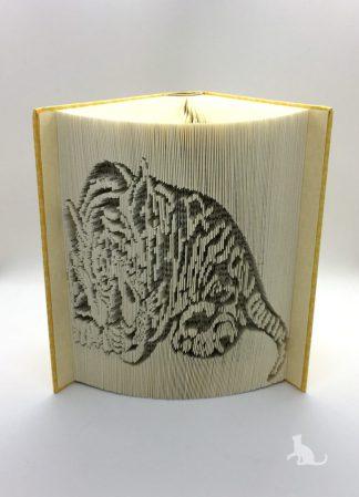 Buch Tiger aus Petras Bastelecke