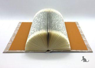 Buch Notizzettel-Halter aus Petras Bastelecke
