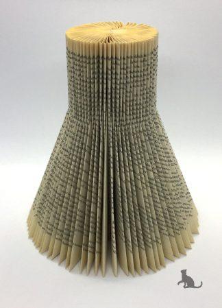 Buch Kerzenständer Zylinder aus Petras Bastelecke