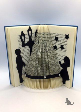 Buch Weihnachtsbaum aus Petras Bastelecke