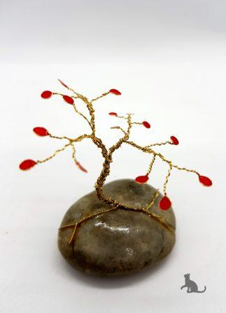 Drahtbäumchen rot