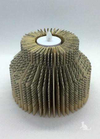 Buch Kerzenhalter Zylinder aus Petras Bastelecke