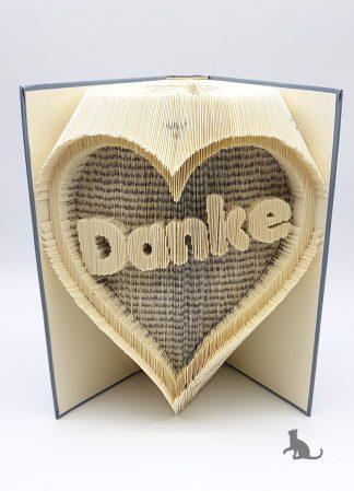 Buch Danke hellblau