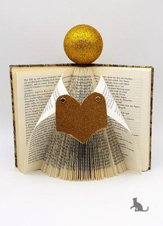 Buch Weihnachtsengel gold